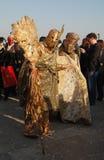 Gladiadores do ouro Fotos de Stock