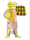 Gladiateur Photos libres de droits
