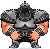 Gladiateur Armor de bande dessinée illustration de vecteur