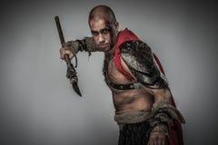 Gladiateur blessé image stock
