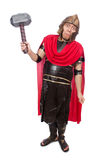 Gladiator με το σφυρί Στοκ φωτογραφία με δικαίωμα ελεύθερης χρήσης