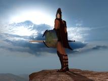 gladiator fotografering för bildbyråer