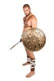 gladiator royaltyfri foto