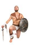 gladiator royaltyfria bilder