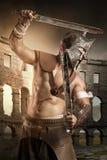 gladiator royaltyfri bild