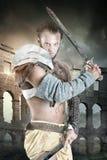 Gladiator/Barbarian warrior Stock Photography