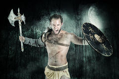 Gladiator/Barbarian warrior Royalty Free Stock Photography