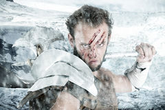 Gladiator/Barbarian warrior Royalty Free Stock Images