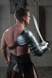 Gladiator from behind Stock Photography