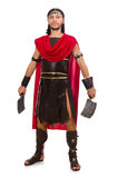 Gladiator with cleaver Royalty Free Stock Photo