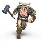 Gladiator. 3D CG rendering of a gladiator Royalty Free Stock Images