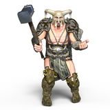 Gladiator. 3D CG rendering of a gladiator Stock Photography