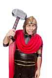 Gladiator with hammer Royalty Free Stock Image