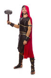 Gladiator with hammer Royalty Free Stock Photos