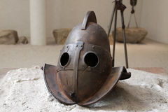 Gladiator helmet Stock Images