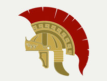 Gladiator helmet,  Roman legionnaire - Stock Image
