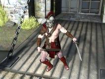 Gladiator Stock Photo