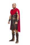 Gladiator isolated on white Stock Image
