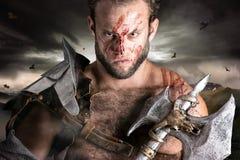 Gladiator/krigare royaltyfri fotografi