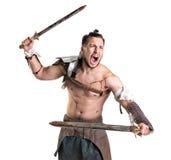 Gladiator/krigare royaltyfri bild