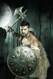 Gladiator/krigare royaltyfria foton