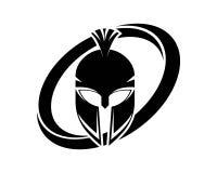 Gladiator logos and symbols icons.  Royalty Free Stock Photos