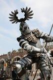 Gladiator met spear bij Arena Verona Stock Afbeelding