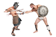Gladiator's dead Royalty Free Stock Photography
