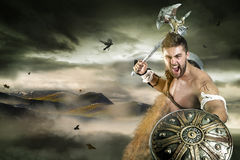 Gladiator, wojownik/ Obrazy Royalty Free