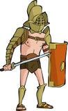 Gladiatore romano Fotografia Stock Libera da Diritti