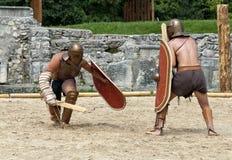 Gladiatorkamp på Carnuntum #3 arkivbilder
