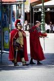 gladiators στηρίζονται δύο Στοκ εικόνες με δικαίωμα ελεύθερης χρήσης
