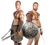 gladiators Foto de archivo