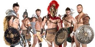 gladiators imagem de stock