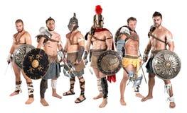 gladiators Fotografia Stock Libera da Diritti