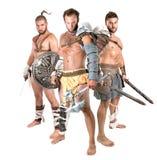 Gladiators/Barbarian warriors Stock Images