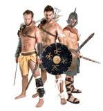 Gladiators/Barbarian warriors Royalty Free Stock Image