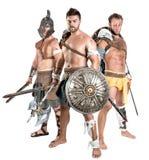 Gladiators/Barbarian warriors Royalty Free Stock Photo