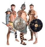 Gladiators/Barbarian warriors Stock Photos