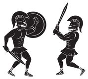 Gladiators Royalty Free Stock Photography