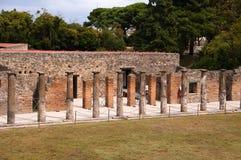 The Gladiators Palestra  in Pompeii Stock Images