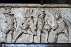 Gladiators royalty free stock photography