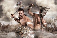 Gladiators/Warriors Royalty Free Stock Images
