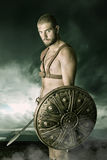 Gladiatorstrijder Stock Fotografie
