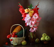 Gladiolus still life Stock Photos