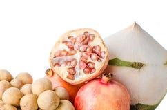 gladlynt blandade fruktfrukter Royaltyfria Bilder