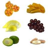 gladlynt blandade fruktfrukter Royaltyfri Foto