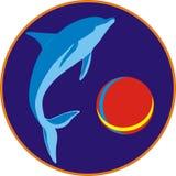 gladlynt delfin Royaltyfri Fotografi