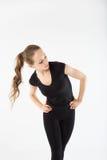 gladlynt flickabarn Fotografering för Bildbyråer