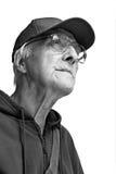 gladlynt gammalare man Fotografering för Bildbyråer